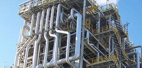 Stainless steel flanges - Downstream Petrochemicals